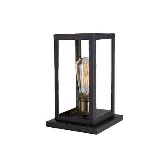Dovre Bordlampe E27 Svart 60W IP-20