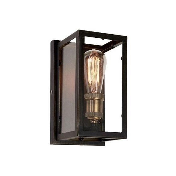 Dovre Vegglampe Svart E27 60W IP-20