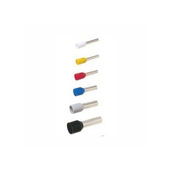 Endehylse Isolert 2,50mm2 10mm L.