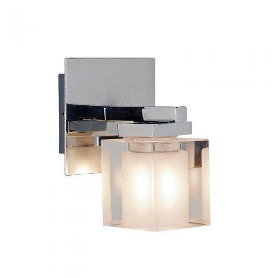 Crystal  Vegglampe  Krom  G9/18W  IP44