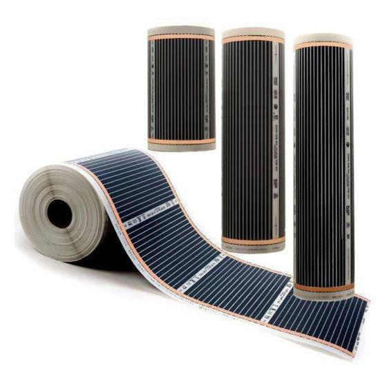 Varmefolie Comfort for gulv 60cm 60W/m2 36W pr løpemeter
