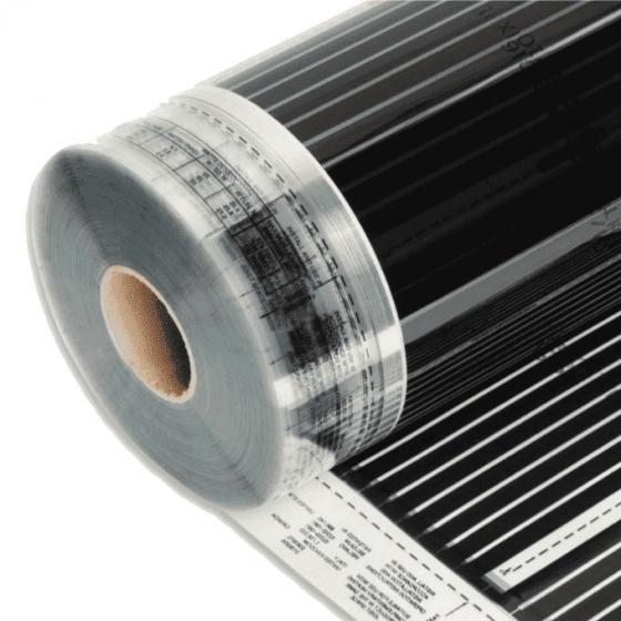 Varmefolie Flexwatt for gulv 60cm 60W/m2 36W pr løpemeter