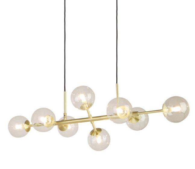 Soprano taklampe messing/klar