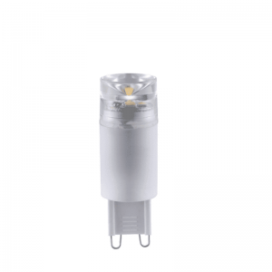 LED pære 230V/G9 3,4W Klart glass