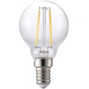 LED pære 230V/E14 2,1W Klart glass Ilum Filament Ø:4,5
