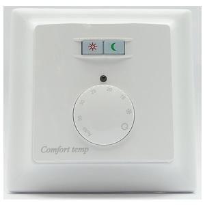 Termostat og Effektregulator Comfort 740 ECO Rom og Gulvføler