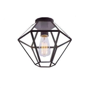 Ask Taklampe Svart E27 O:28 IP-20