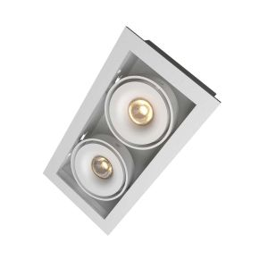 Q-light Dorado Duo 2x7W LED Hvit IP54