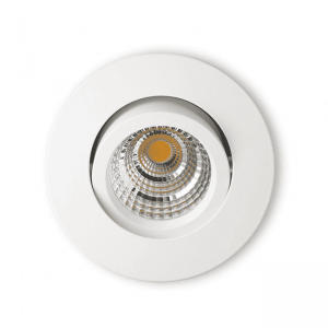 LED Downlight Infinity 10W 2700K m/driver HVIT