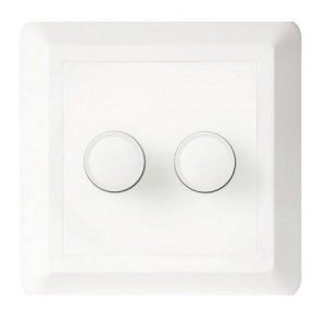 Lysdimmer Duo Dim 2 x 100W Universal