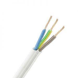 PMH kabel 3G2,50mm2 HVIT  H05VV-F-met