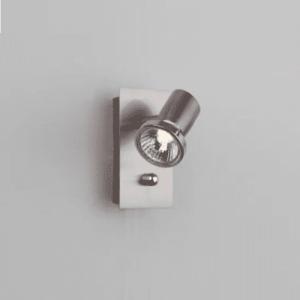 Tellus Vegglampe Stål m/dimmer GU10/50W