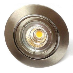 El Downlight Circle 230v Nordlux GU10 4W LED Hi-Power Arcurgrå