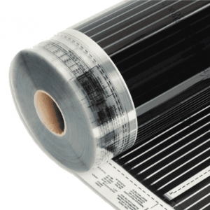 Varmefolie Flexwatt for gulv 120cm 60W/m2 72W pr løpemeter