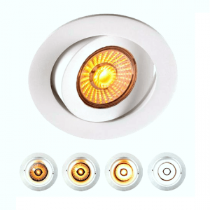 Venus Downlight Warmdim 12W LED m/driver 48mm Matt Hvit