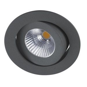 Venus Downlight Led Lav 48mm 9,0W Outdoor m/driver IP44 Dimbar Grafitt-Ra