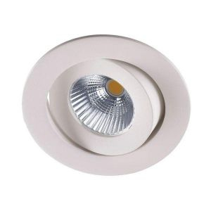Venus Downlight Led Lav 48mm 9,0W Outdoor m/driver IP44 Dimbar Hvit-Ra