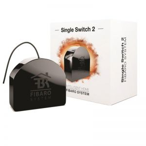 Z-Wave Fibaro Single Switch 2 - Bryter 1840W
